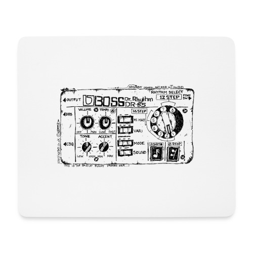 Drum Machine's R Ace! - Mouse Pad (horizontal)
