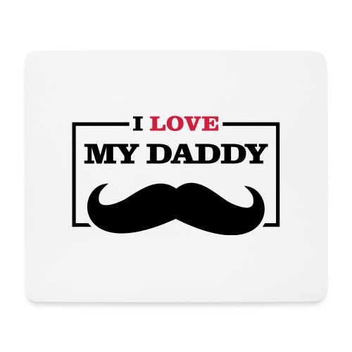 LOVE DADDY - Tappetino per mouse (orizzontale)