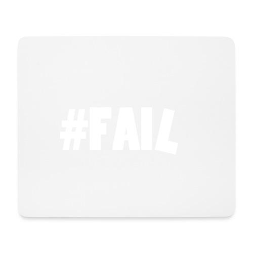 FAIL / White - Tapis de souris (format paysage)
