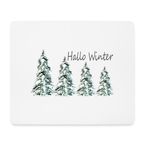 T-shirt Homme hiver - Tapis de souris (format paysage)