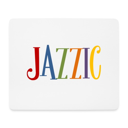 Jazzic Logo - Mousepad (Querformat)