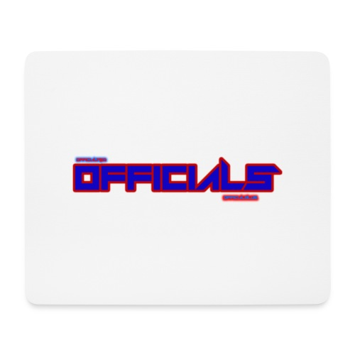 officials - Mouse Pad (horizontal)