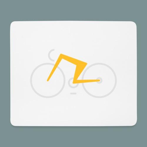 Bikes against cancer - Mousepad (bredformat)
