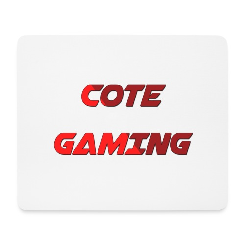 Cote Sweater Rode Letters - Mouse Pad (horizontal)