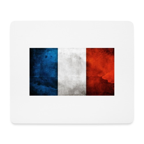 France Flag - Mouse Pad (horizontal)
