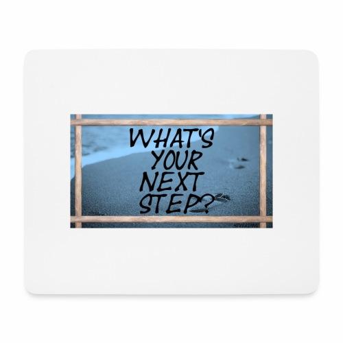 NEXT STEP - Mousepad (Querformat)