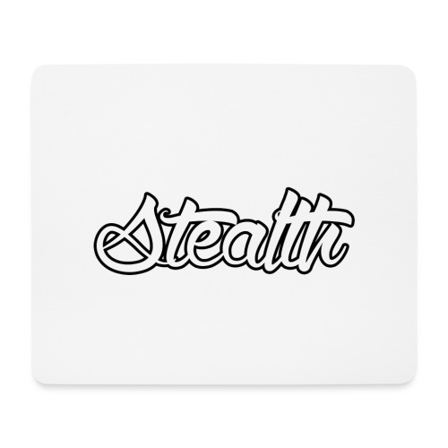 Stealth White Merch - Mouse Pad (horizontal)