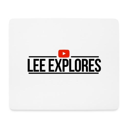 LEE EXPLORES - Mouse Pad (horizontal)