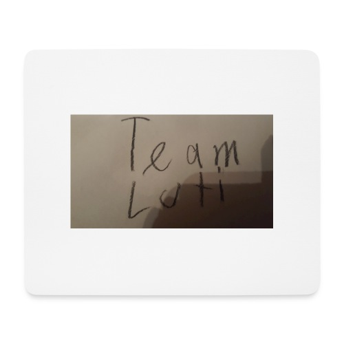 Team Luti - Mousepad (Querformat)