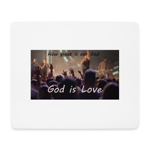 GOD is LOVE. - Mousepad (Querformat)