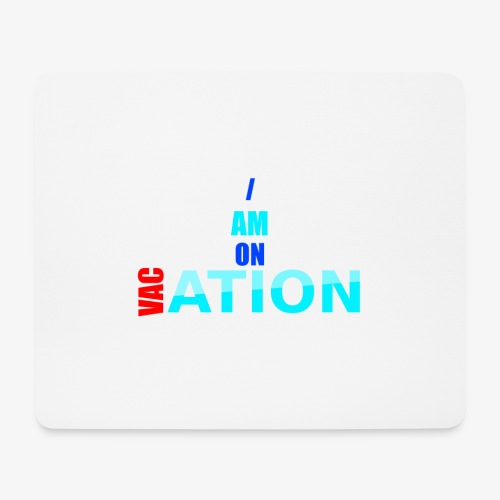 VACation - Mousepad (Querformat)