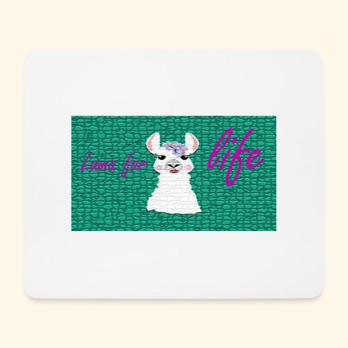 lama / alpaca - Mousepad (Querformat)
