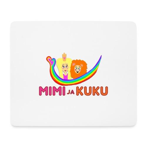 Mimi ja Kuku- sateenkaarilogolla - Hiirimatto (vaakamalli)