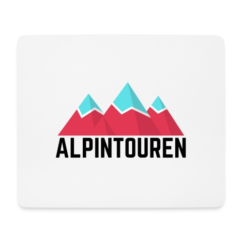 Alpintouren - Mousepad (Querformat)