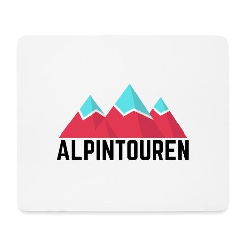 Alpintouren - Mousepad (Querformat)