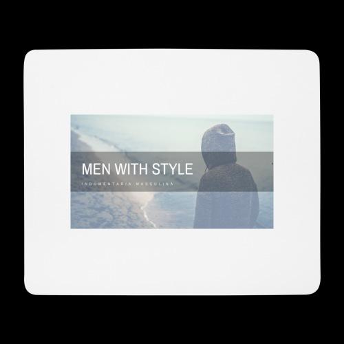 men with style - Alfombrilla de ratón (horizontal)
