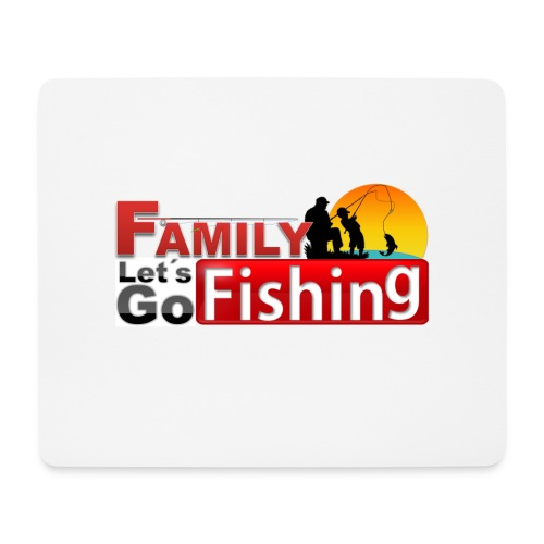 FAMILY LET'S GO FISHING FUND - Mouse Pad (horizontal)