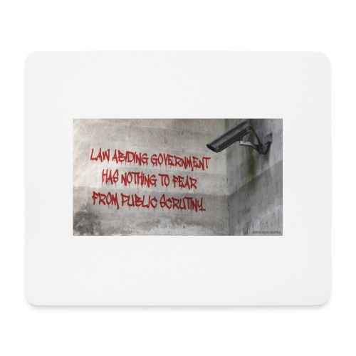 Nothing to Fear - Mouse Pad (horizontal)