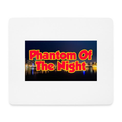 Phantom Of The Night Official Wear - Mouse Pad (horizontal)