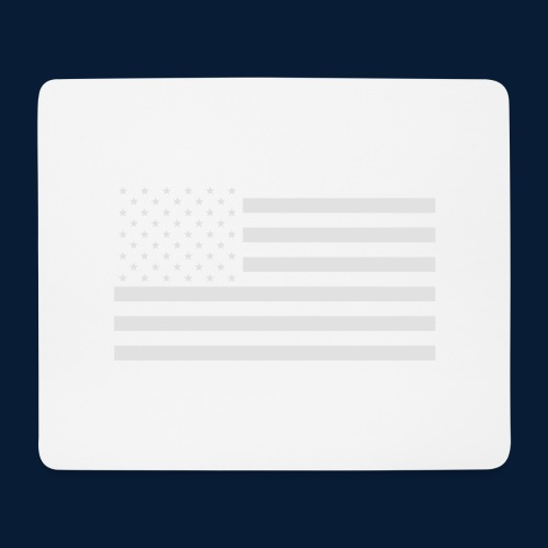 Stars and Stripes White - Mousepad (Querformat)