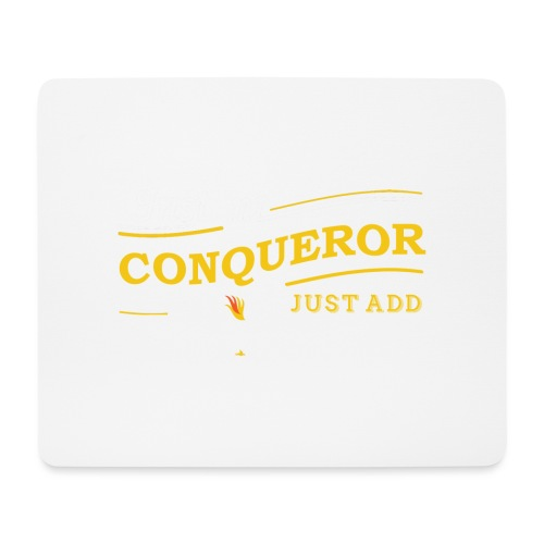 Instant Conqueror, Just Add Dragons - Mouse Pad (horizontal)
