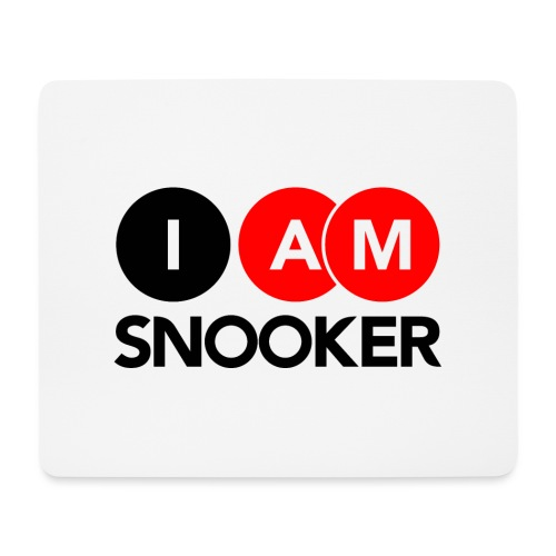 I AM SNOOKER - Mouse Pad (horizontal)