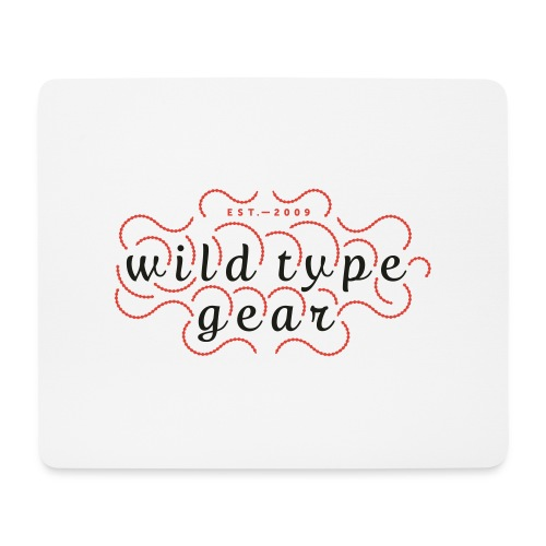 wtg stiched 2 - Mouse Pad (horizontal)