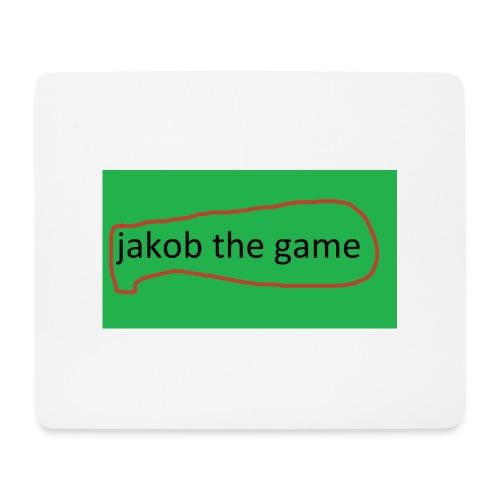 jakob the game - Mousepad (bredformat)