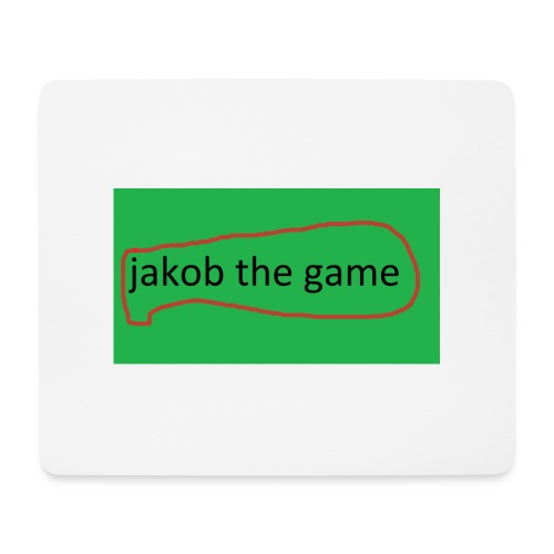 jakobthegame - Mousepad (bredformat)