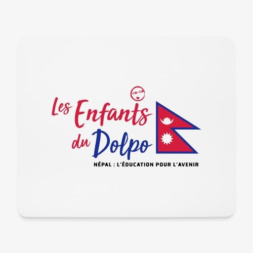 Les Enfants du Doplo - Grand Logo Centré - Tapis de souris (format paysage)