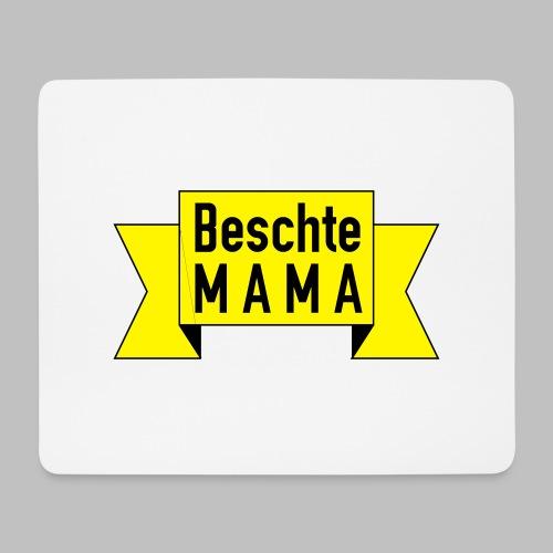 Beschte Mama - Auf Spruchband - Mousepad (Querformat)