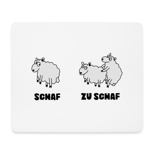 Zu Schaf_Position2 - Mousepad (Querformat)