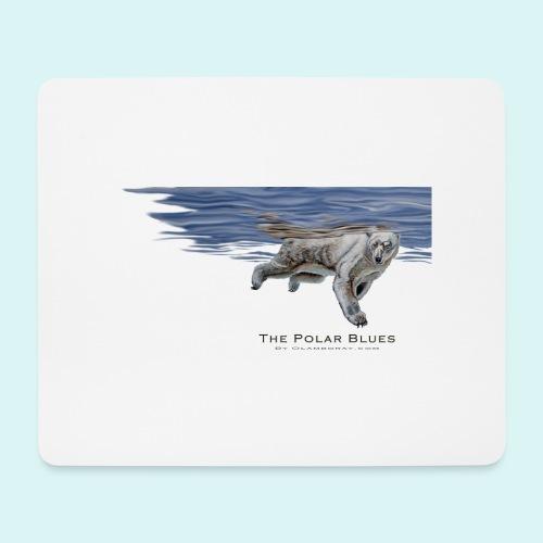Polar-Blues-SpSh - Mouse Pad (horizontal)