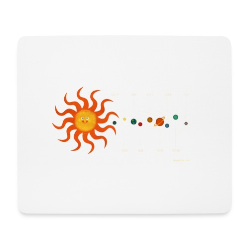 Solar System - Mouse Pad (horizontal)