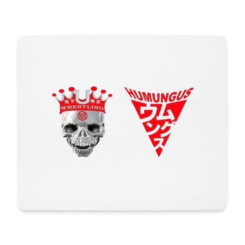 skull krone humungus3 png - Mousepad (Querformat)