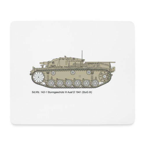 Stug III Ausf D. - Mousepad (Querformat)