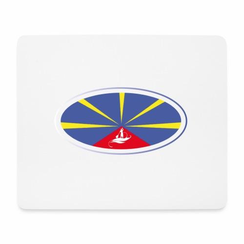 Paddle Reunion Flag - Tapis de souris (format paysage)