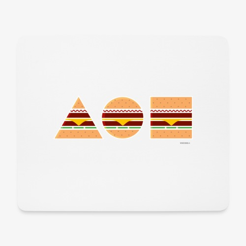 Graphic Burgers - Tappetino per mouse (orizzontale)