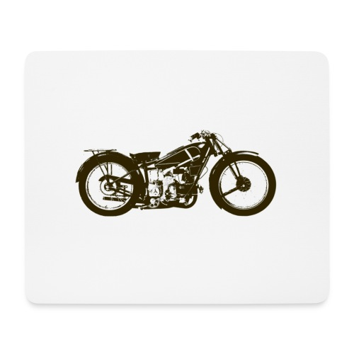 Classic Cafe Racer - Mouse Pad (horizontal)