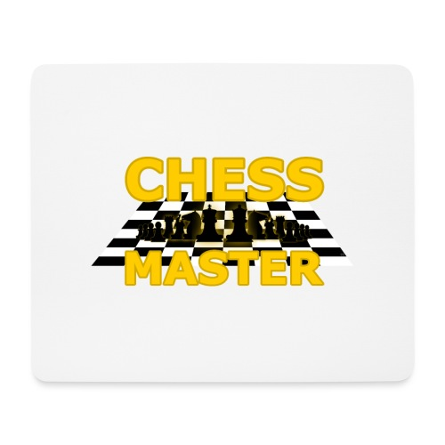 Chess Master - Black Version - By SBDesigns - Mouse Pad (horizontal)