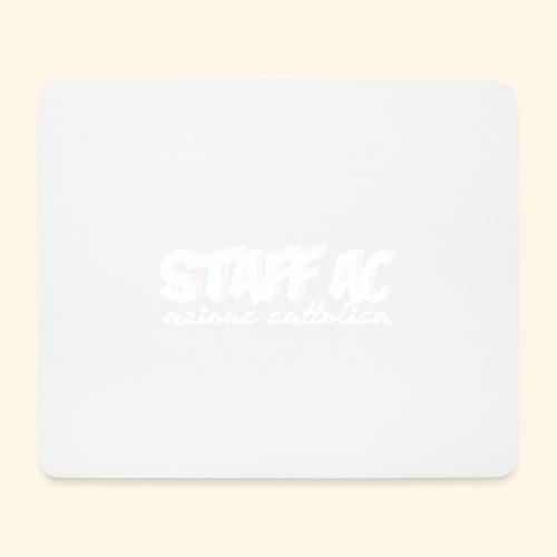 staff ac bianco - Tappetino per mouse (orizzontale)