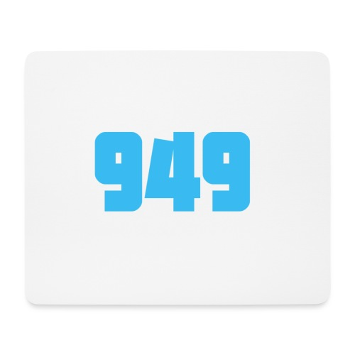 949blue - Mousepad (Querformat)