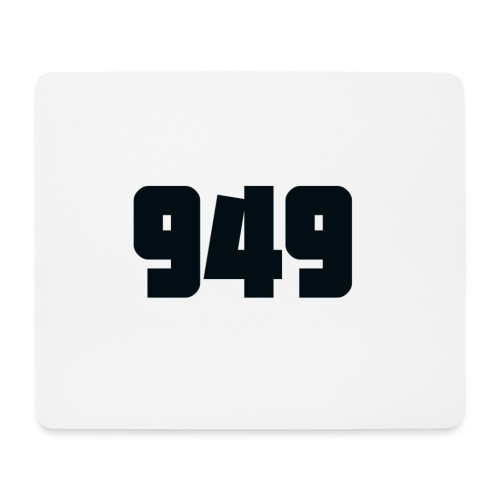 949black - Mousepad (Querformat)
