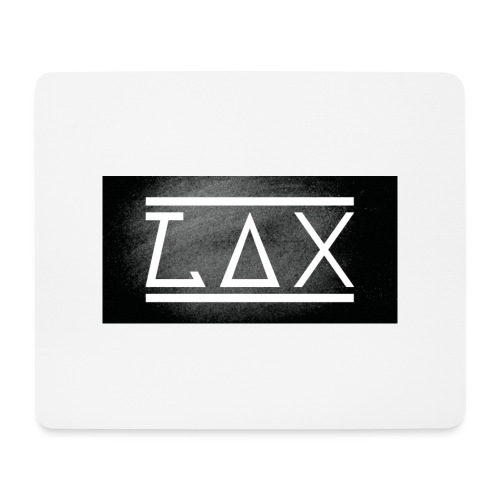 LAX LOGO COLOR BLACK/WHITE - Mousepad (Querformat)