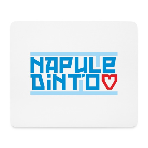 Napule dint'o Core - Tappetino per mouse (orizzontale)