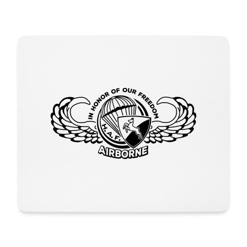 HAF tshirt back2015 - Mouse Pad (horizontal)