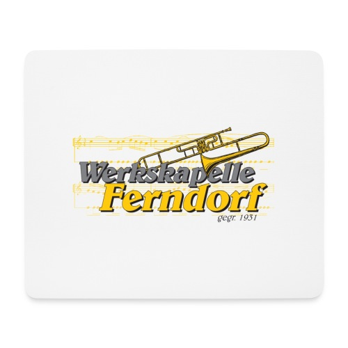 Logo WK Ferndorf - Mousepad (Querformat)