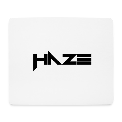 HaZe schrift Merch - Mousepad (Querformat)