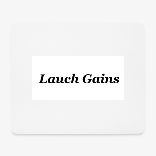 Lauch Gains - Mousepad (Querformat)