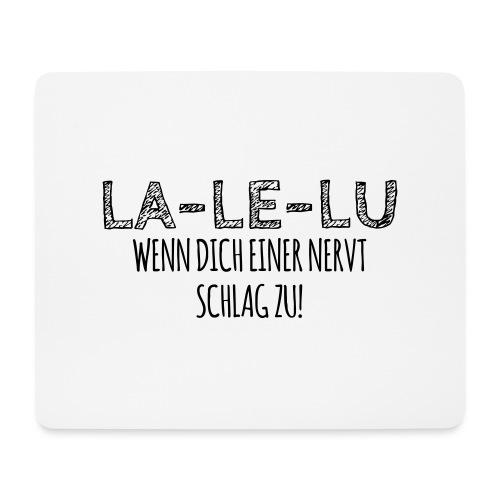 Schlagen - Mousepad (Querformat)